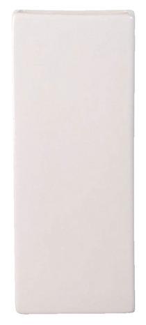 Saturateur En Céramique Blanche 8x4x22 Cm