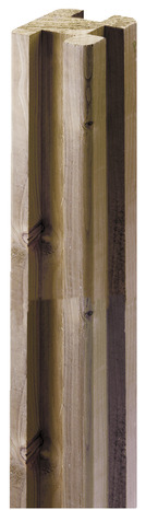 poteau d 39 angle jonction l 2 40 m section 89 x 89 mm brico d p t. Black Bedroom Furniture Sets. Home Design Ideas