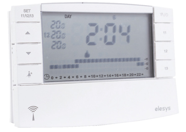 pack thermostat digital programmable sans fil brico d p t. Black Bedroom Furniture Sets. Home Design Ideas