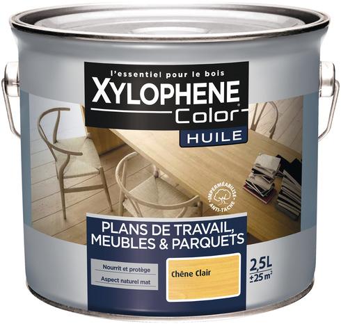 huile de 2 5 l aspect mat naturel et incolore pour plan de. Black Bedroom Furniture Sets. Home Design Ideas