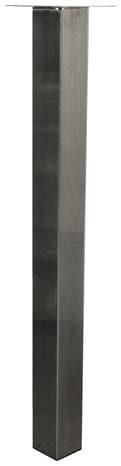 Pied Carre Pour Table Haute 60x60 Mm H 710 Mm Brico Depot