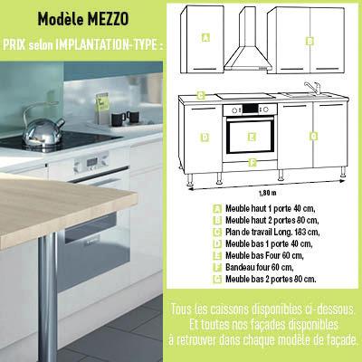 Cuisine mezzo brico d p t for Configurer ma cuisine