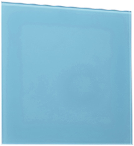 Credence en verre turquoise 90 x 70 cm brico d p t for Credence panneau adhesif