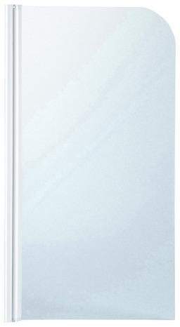 Pare Baignoire En Verre Granite Ep 4 Mm Profile Laque Blanc H