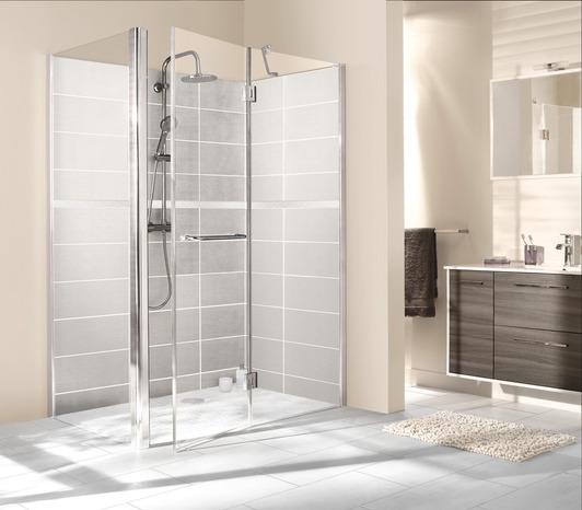 paroi pivotante atoll verre transparent h 195 cm l 90 cm. Black Bedroom Furniture Sets. Home Design Ideas