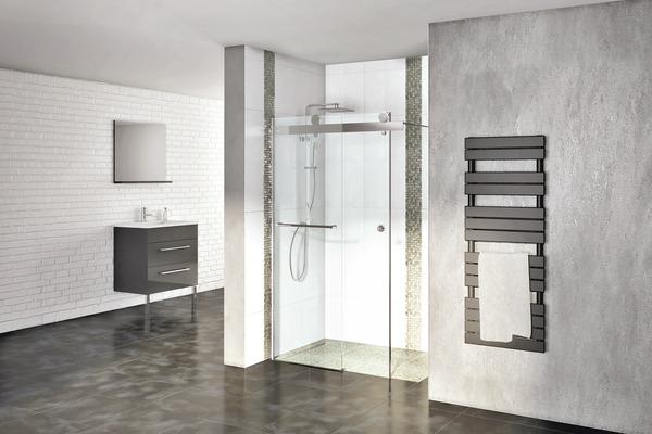 paroi coulissante atoll h 200 cm l 140 cm brico d p t. Black Bedroom Furniture Sets. Home Design Ideas