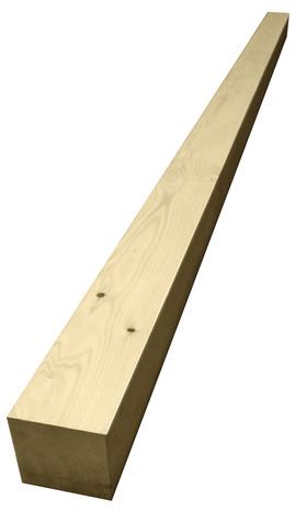 poutre en sapin brut l 2 50 m section 100x100 mm brico d p t. Black Bedroom Furniture Sets. Home Design Ideas