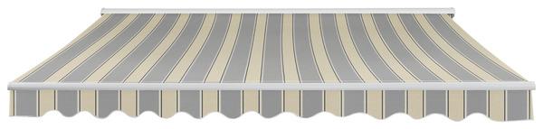 store banne motoris toile polyester 300 g m l 3 75 x l 3 m brico d p t. Black Bedroom Furniture Sets. Home Design Ideas