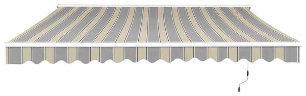 store banne manuel toile polyester 300 g m l 3 75 x l 3 m brico d p t. Black Bedroom Furniture Sets. Home Design Ideas