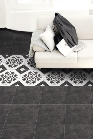 carrelage en gr s maill blanc pour sol int rieur l 32 5 cm l 32 5 cm ep 8 mm brico d p t. Black Bedroom Furniture Sets. Home Design Ideas