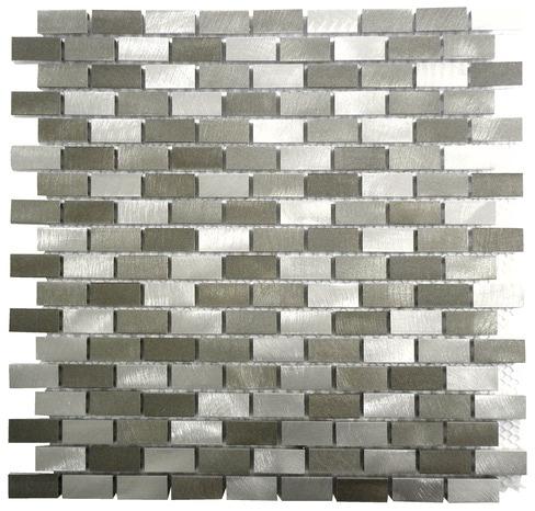 mosa que de verre gris noir pour mur 30x30 cm brico d p t. Black Bedroom Furniture Sets. Home Design Ideas