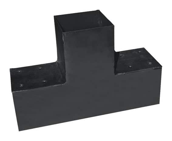connecteur t pour poteau 9x9 t simple brico d p t. Black Bedroom Furniture Sets. Home Design Ideas