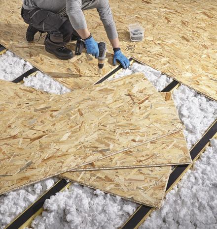 Dalle de plancher osb 3 brico d p t for Osb exterieur brico depot