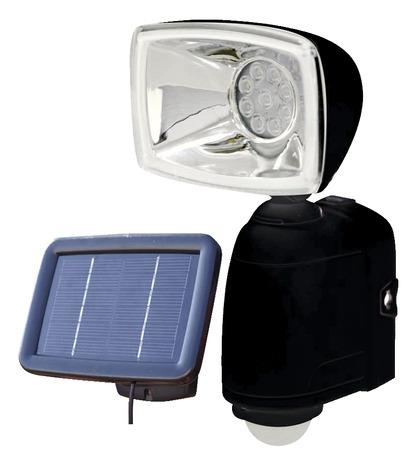projecteur solaire d tection 400 lm brico d p t. Black Bedroom Furniture Sets. Home Design Ideas