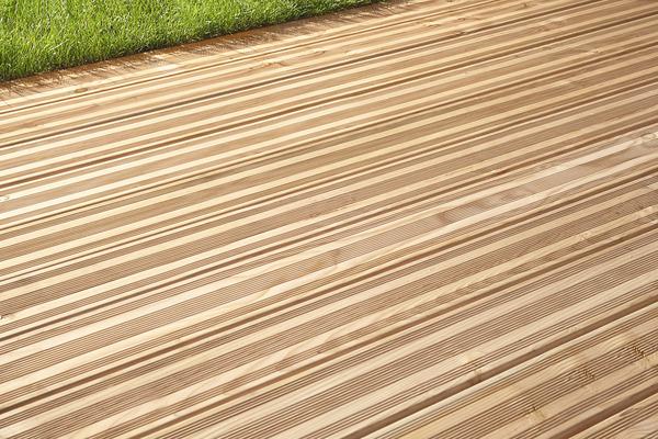 lame de terrasse en douglas aspect bois l 3 m x l 14 5. Black Bedroom Furniture Sets. Home Design Ideas