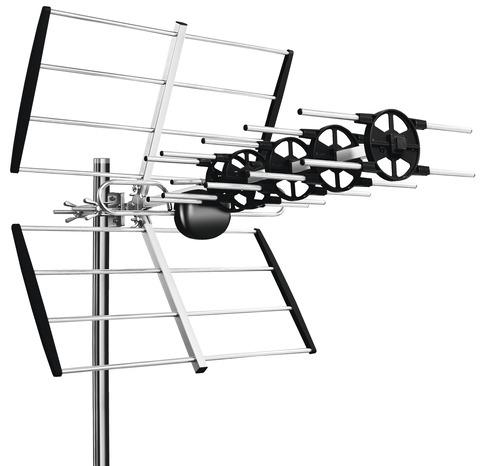 kit antenne tnt pour r ception tnt sur 2 t l viseurs