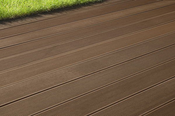 LAME DE TERRASSE COMPOSITE COLORIS CHOCOLAT Brico Dép u00f4t # Brico Depot Terrasse Bois Composite