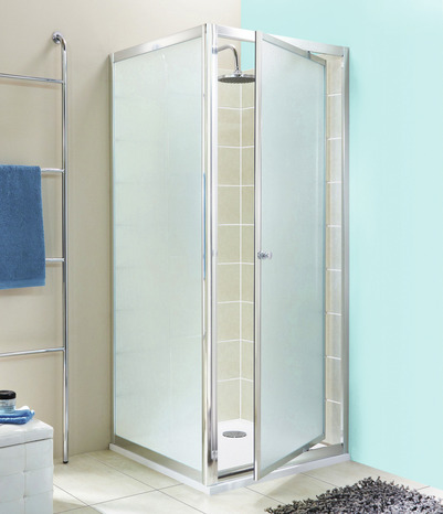 porte de douche pivotante ep 4 mm profil s en aluminium ep 46 mm h 185 cm l 70 cm brico. Black Bedroom Furniture Sets. Home Design Ideas