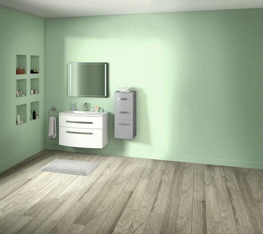meuble zen gris 90 cm le meuble le plan vasque brico d p t. Black Bedroom Furniture Sets. Home Design Ideas