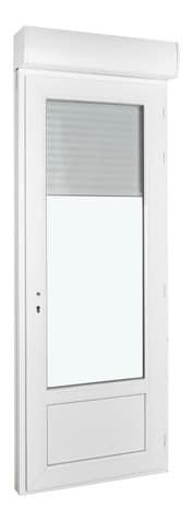 Fenêtre PVC Avec Volet Roulant Motorisé Droite L X H Cm UW - Porte fenetre pvc avec volet roulant brico depot