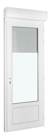 Porte Fenêtre Pvc Blanc 1 Vantail Tirant Gauche Larg 80 X Haut 215