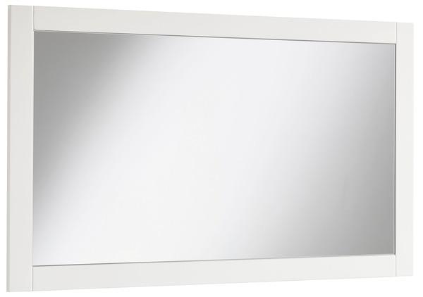 miroir charme blanc mat x x ep 1 7 cm brico d p t. Black Bedroom Furniture Sets. Home Design Ideas