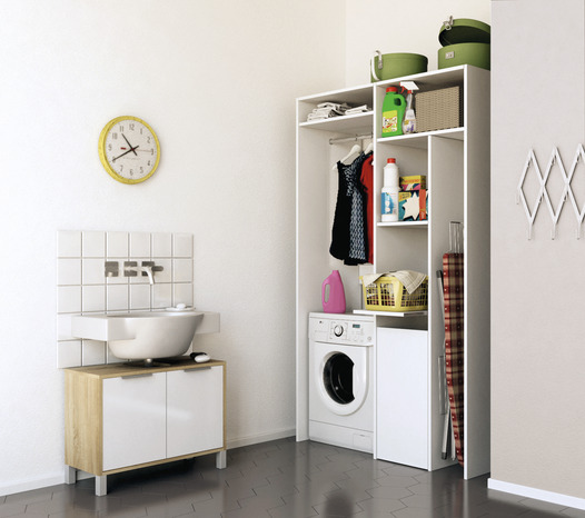 am nagement de placard buanderie brico d p t. Black Bedroom Furniture Sets. Home Design Ideas