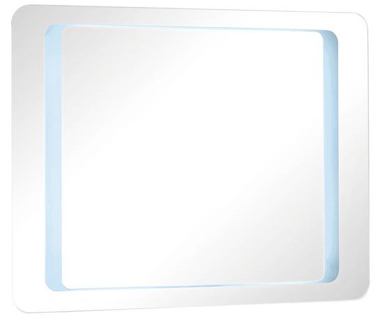 Miroir zen led h 70 cm l 90 cm p 4 5 mm brico d p t for Miroir salle de bain brico depot