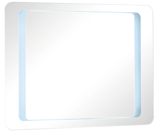 Miroir zen led l 90 x 70 x p 4 5 mm brico d p t for Miroir new york