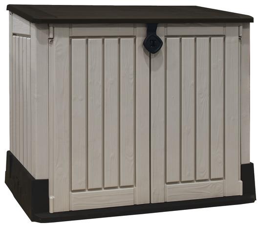 armoire de rangement ext rieur 845 l brico d p t. Black Bedroom Furniture Sets. Home Design Ideas