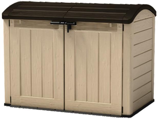 Top coffre de rangement extrieur l le coffre brico dpt - Coffre de rangement exterieur castorama ...