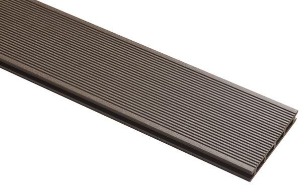 lame de terrasse composite chocolat l 3 m x l 14 5 cm x p 21 mm brico d p t. Black Bedroom Furniture Sets. Home Design Ideas