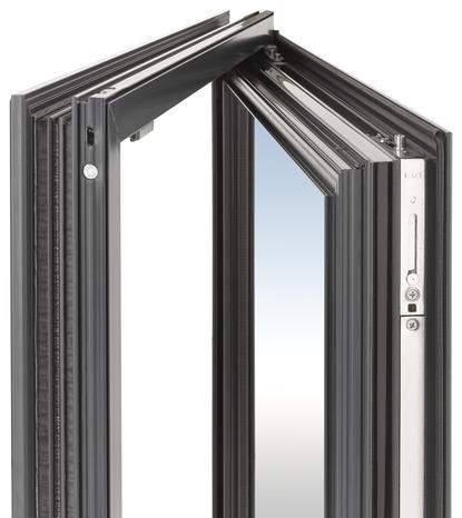 Fen tre en aluminium gris anthracite gauche l 80 x h 95 for Fenetre 80 95