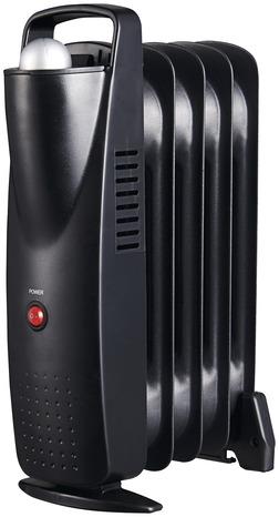 Radiateur Bain D Huile A Thermostat Manuel 2 500 W Brico Depot
