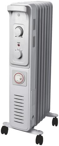 radiateur bain d 39 huile thermostat manuel 1500 w brico d p t. Black Bedroom Furniture Sets. Home Design Ideas