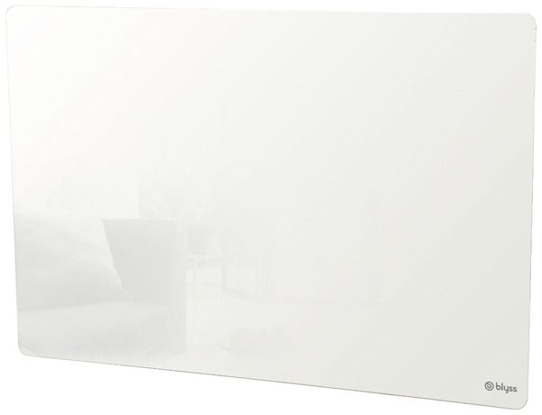 Radiateur inertie s che maela blanc 1 000 w h 57 5 x for Radiateur a inertie ceramique brico depot