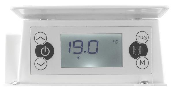 Radiateur à Inertie Sèche Maela Blanc 1 500 W H 575 X L