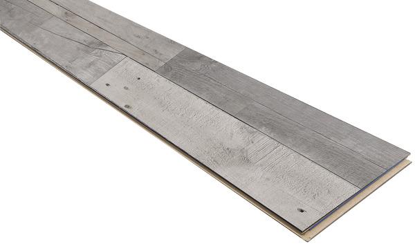 rev tement de sol stratifi imitation ch ne gris style loft l 1286 mm l 282 mm ep 10 mm. Black Bedroom Furniture Sets. Home Design Ideas