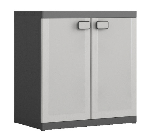 armoire basse en r sine 1 tablette charge max 50 kg. Black Bedroom Furniture Sets. Home Design Ideas