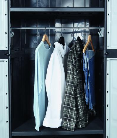 Kit penderie pour armoire xl concepto brico d p t - Penderie brico depot ...
