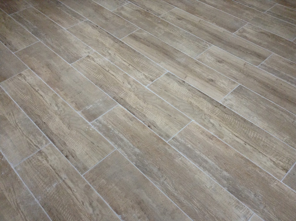 Gr s c rame maill sequoia imitation parquet 19x80 cm for Brico depot carrelage interieur