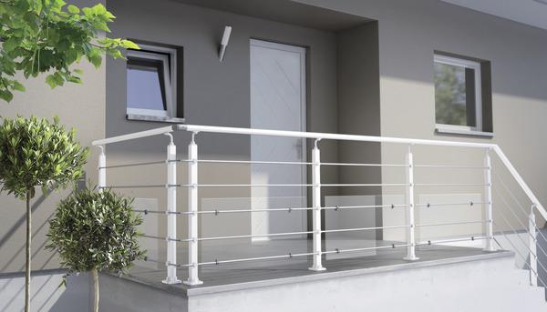 Kit Balustre Aluminium Blanc 2m Brico Dépôt