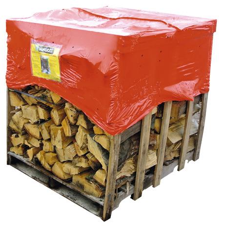 Bois de chauffage 600 kg b ches de 50 cm brico d p t - Range buche brico depot ...