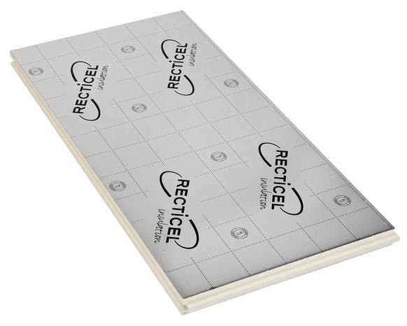 Panneau d 39 isolation en polyur thane nouvelle g n ration avec une paisseur de 30 mm 6 pi ces for Plancher comble brico depot