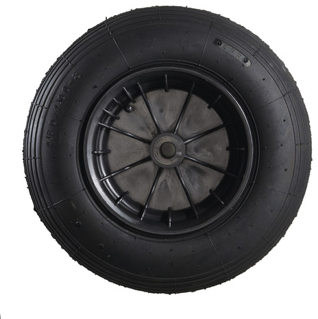 roue caoutchouc noir 400 mm brico d p t. Black Bedroom Furniture Sets. Home Design Ideas