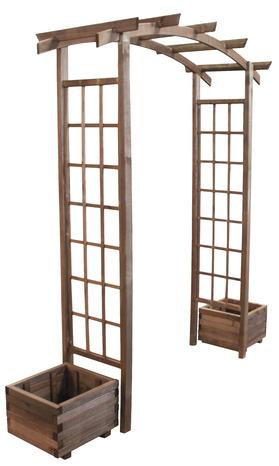 finest pergola double arc la pergola brico dpt with. Black Bedroom Furniture Sets. Home Design Ideas