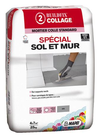 Mortier Colle Sol Et Mur C1 Brico Depot
