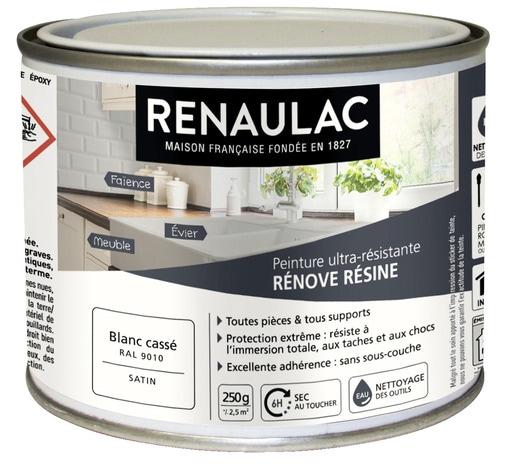 PEINTURE RÉNOVE RÉSINE 0,25 L 0,25 L - Blanc cassé - Brico Dépôt