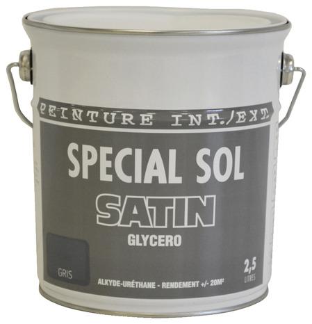 Peinture Gris Clair Satin Pour Sol 2 5 L Brico Depot