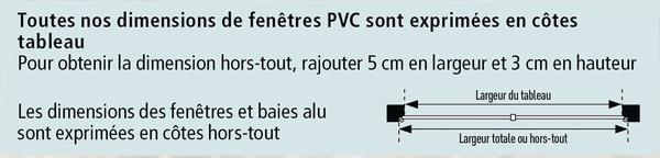 Baie Vitrée Coulissante Aluminium Blanc Deux Vantaux L 180 X H 215